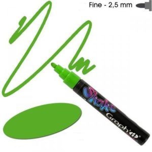 Graph'it Shake tusch fine 2,5mm lime grøn
